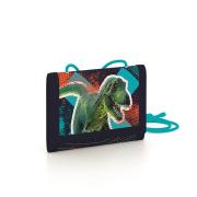 Dětská textilní peněženka Premium Dinosaurus