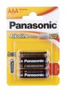 Baterie mikrotužková AAA (4ks) Panasonic