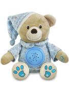 Plyšový medvídek s projektorem Baby Mix modrý