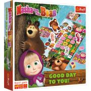 Společenská hra Máša a medvěd - Přejí hezký den