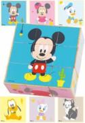 Disney Dřevěné obrázkové kostky