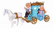Panenka Evička a Timmy s kočárem