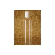 Plastová lahvička s odklápěcím uzávěrem čirá, 200 ml