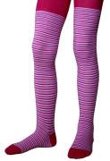 Dětské punčocháče Design Socks vel. 3 (2-3 roky) růžové tenké proužky