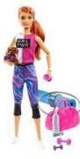 Barbie wellness panenka GKH73 Fitness