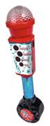 Elektronický mikrofon 28 cm, vstup pro MP3 Simba