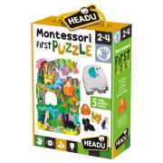 HEADU: Montessori Moje první puzzle - Džungle
