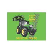 Desky na číslice Traktor