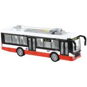 Trolejbus s českým hlasem 28 cm