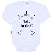 Body s potiskem New Baby Tati, to dáš!