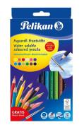 Pelikan - Pastelky akvarelové 12ks