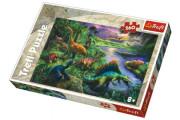 Puzzle Dinosauři 260 dílků 60x40 cm