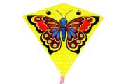 Drak létající motýl plast 68x73 cm