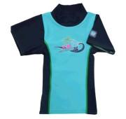 Plážové UV triko - Tyrkysové