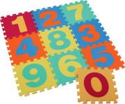Puzzle pěnové 10 dílů číslice 32 x 32 cm