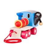 Krtek a mašinka - tahací hračka