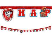 Banner - Tlapková Patrola Happy Birthday