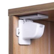 Magnetický uzávěr skříněk/zásuvek 4ks, white