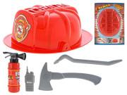 Požární set s helmou 5 ks