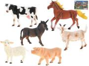 Sada zvířátek Farma 16-21 cm 6 ks