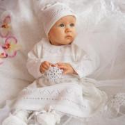 Souprava ke křtu pro dívky EKO 10