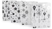 Dárková taška vánoční 17,5 x 23,5 cm