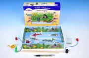 Krtek rybářem - magnetická hra pro děti