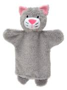 Maňásek 27 cm Kočička šedá