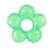 Gelové kousátko Baby Ono malá květina zelená