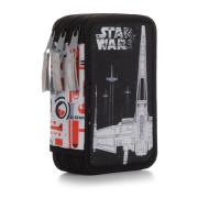 Penál třípatrový prázdný Star Wars