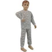 Bavlněné pyžamo obláčky šedé Esito Vel. 86 - 92
