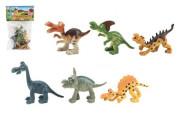 Veselí dinosauři 9-11 cm 6 ks