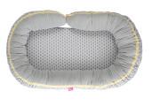 Hnízdo pro miminko 2v1 Classics 95x62 cm Grey