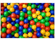 Plastové balónky 100 ks do bazénu velké 7,5 cm