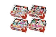 Minipuzzle Minnie & Daisy 54 dílků