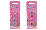 Sada prstýnků pro holčičky, 2 druhy