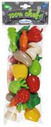 Zelenina různé druhy 22 ks