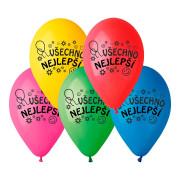 Balónky Narozeninové - Vše nejlepší 10 ks