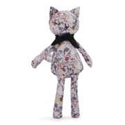 Dětská látková hračka kočička Snuggle Elodie Details - Vintage Flower Valentine