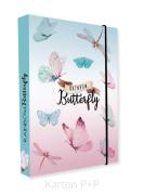 Box na sešity A4 Motýl