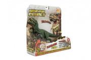 Dinosaurus plast 26 cm na baterie se zvukem se světlem