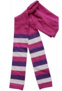 Dětské legíny Design Socks vel. 3 (2-3 roky) LILA PROUŽKOVANÉ