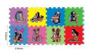 Pěnové puzzle Krtek 30x30cm