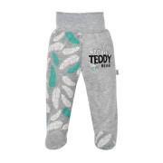 Kojenecké bavlněné polodupačky New Baby Wild Teddy