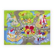 Podložka pěnová skládací Disney Pals 120 x 89 cm 6 m+
