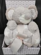 Plyšová hračka s dekou MYŠKA