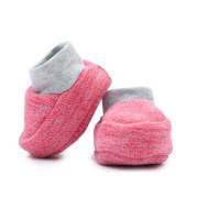 Kojenecké fleecové capáčky Baby Service Růžové Vel. 1