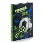 Desky na sešity A4 fotbal