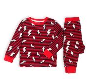 Pyžamo chlapecké dlouhé, Minoti, KB PYJ 12, červená