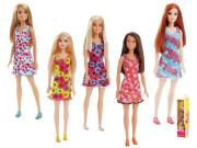 Barbie v šatech